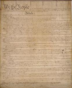 U.S. Constitution, Photo Credit: constitution.org
