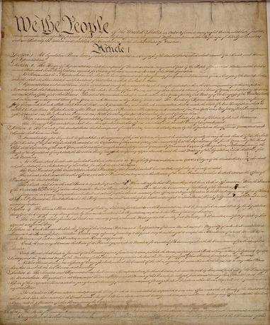 U.S. Constitution, Photo Credit: constitution.org