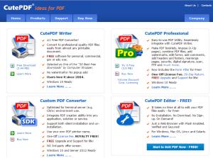 cutepdf_web_page
